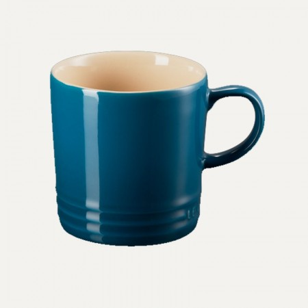 Taza 350ml deep teal - LE CREUSET