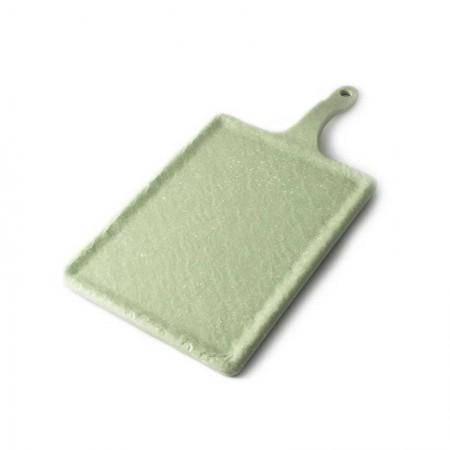 Fuente rectangular de melamina Terral verde - ADRIER